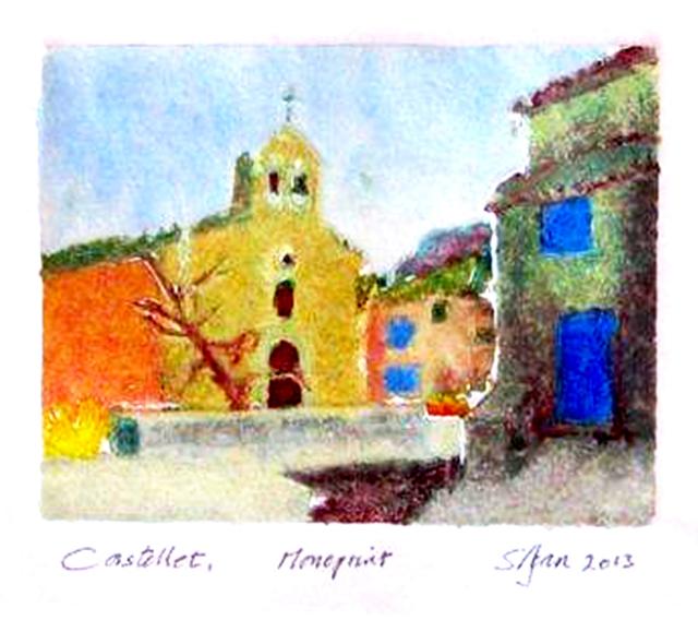 castellet monoprint 2